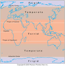 Climatic zones eduprimary the three major climate zones on the earth are the polarfrigid temperate and tropicaltorrid zones temperatures in these three climate zones are altavistaventures Image collections